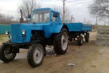 Универсальный трактор МТЗ 80 технические характеристики