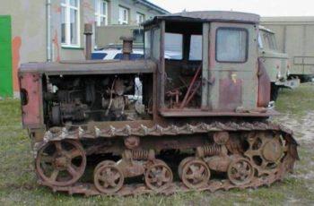 Трактор ДТ 54 технические характеристики