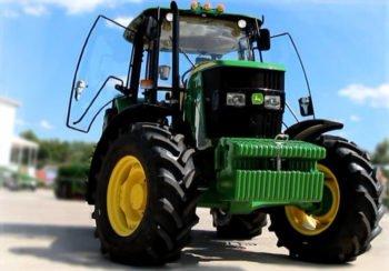Трактор John Deere 6135 B технические характеристики