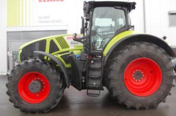 Тяжелый трактор Claas Axion 930 технические характеристики