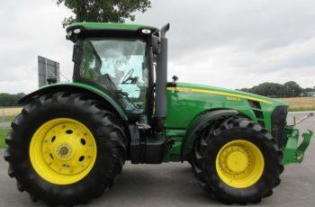 Популярный трактор John Deere 8320 R технические характеристики