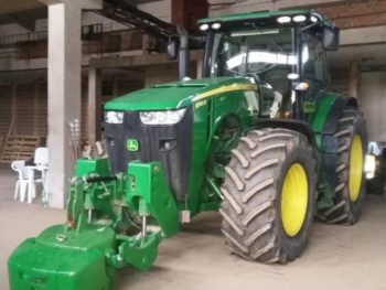 Производительный трактор John Deere 8310 R технические характеристики