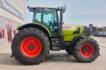 Передовой трактор Claas Atles 946 технические характеристики