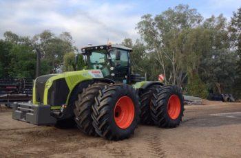 Популярный трактор Claas Xerion 5000 технические характеристики