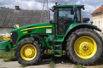Трактор John Deere 7830 технические характеристики
