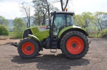 Немецкий трактор Claas Axion 850 технические характеристики