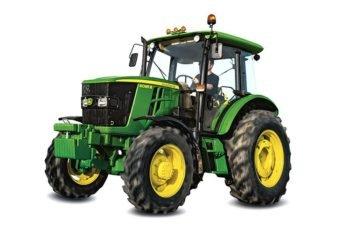 Компактный трактор John Deere 6095 B технические характеристики