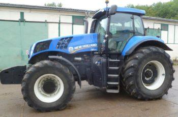Мощный трактор New Holland T 8.390 технические характеристики