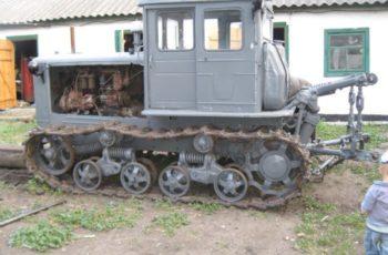 Гусеничный трактор Т-74 технические характеристики