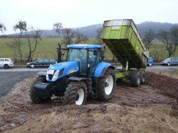 Многоцелевой трактор New Holland T 7070 технические характеристики