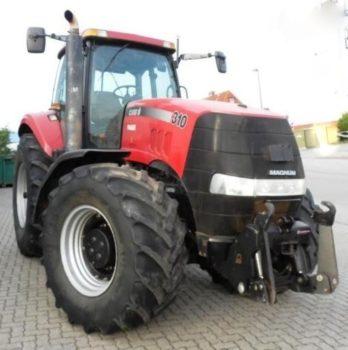 Универсальный трактор Case Magnum 310 технические характеристики, особенности