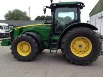 Трактор John Deere 8335 R технические характеристики