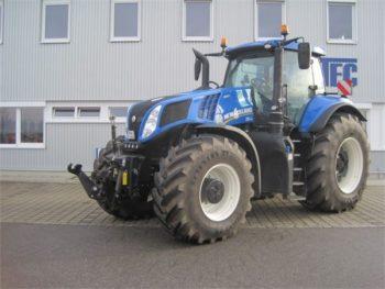 Трактор New Holland T 8.410 технические характеристики, особенности устройства и цена