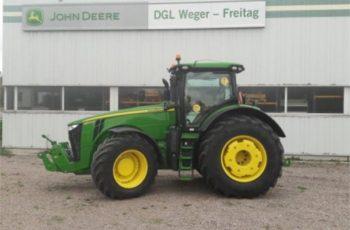 Трактор John Deere 8370 R технические характеристики