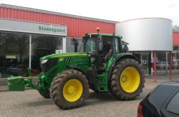 Бюджетный трактор John Deere 6155M технические характеристики