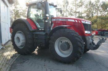 Трактор Massey Ferguson MF8737 технические характеристики, особенности устройства и цена