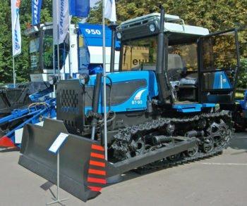 Трактор ВТ-90 технические характеристики, особенности устройства и цена
