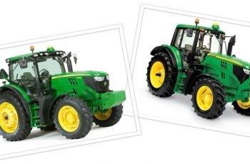 Трактор John Deere 6R